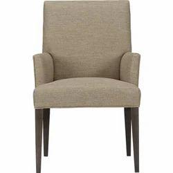 Steel And Wooden Geeken Arm Chair