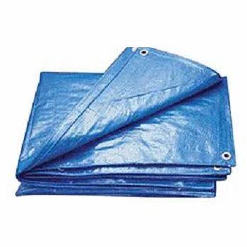 Blue Waterproof Plastic Tarpaulin