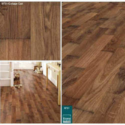 Cottage Oak Laminated Wooden Flooring