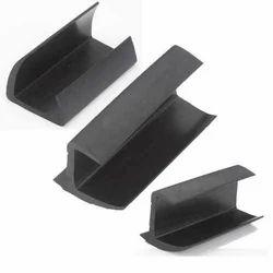 Black Silicone Rubber  Profile