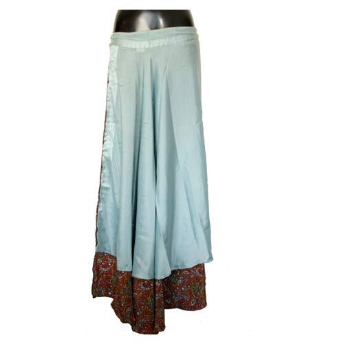 c3e275edad0 Ladies Wrap Skirt Dress - Short Sari Wrap Skirt Manufacturer from Jaipur