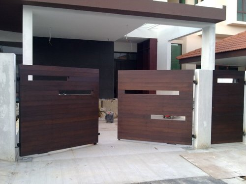 Wooden Designer Main Gate, Main Gate | Ashok Vihar, New Delhi ...