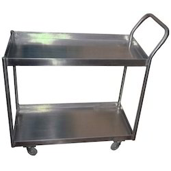 SS Waste Collection Trolley