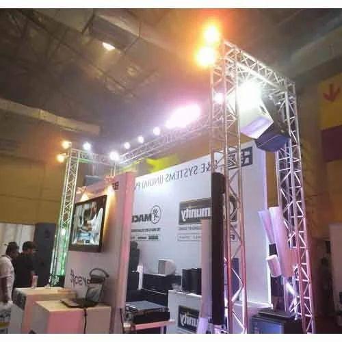 Exhibition Stall Rates In : Exhibition truss aluminium exhibition truss manufacturer from mumbai