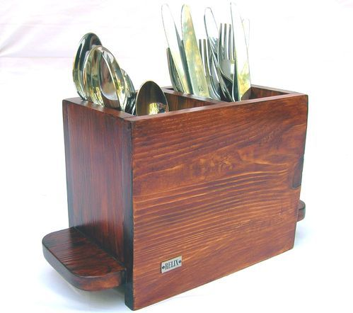 Relix Wooden Cutlery Stand Fw2c - Helix, Bengaluru | ID