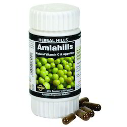 Herbal Amla Capsule - Skin & Hair 60 Capsule