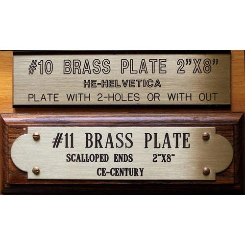 Brass name plate designs for home home review co for Classic house name plates