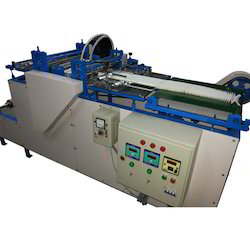Rotary Pleating Machine With Side Locking