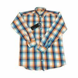 Men''s Full Sleeve Check Shirt