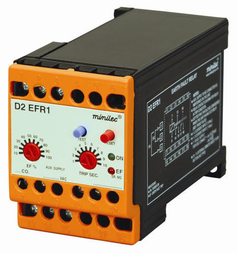 Minilec D2 Efr1 Ground Fault Monitoring Relay