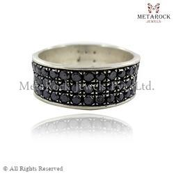 Pave Diamond Eternity Band Ring