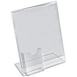Acrylic Sign Holder L Shape
