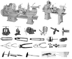 Workshop Machinery And Hand Tools