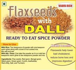 Flax- seeds With Daal Spice Powder