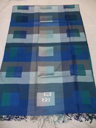 Pure Silk Reversible Modern Check Stole