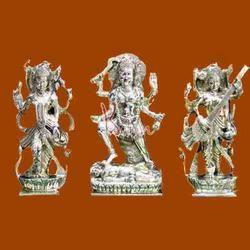 Lakshmi, Saraswati and Kali Statue