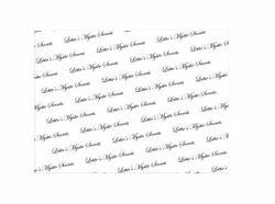 棉循环徽标印刷手工制作组织包装纸,14,尺寸:定制