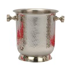 SS Hammered Imperial Ice Bucket