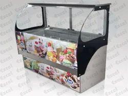 Ice Cream Freezer Counter