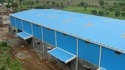Frp Blue Peb Industrial Shed
