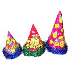 2723f7f42d75f2 Birthday Caps - Birthday Cartoon Caps Manufacturer from Delhi