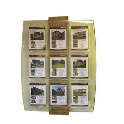 Multiple Acrylic Brochure Stand