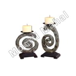 Marble Candle Stand
