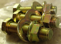 Gold Zinc Plated Screws