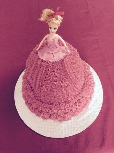 Barbie Doll Cake At Rs 900 Cream Cake Id 10177841088