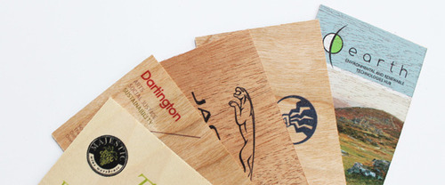 Printed Wooden Business Cards Super Print Services Wholesaler In
