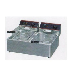 Twin Electric Deep Fryer