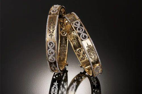 72baa3f67ae727 Indian Designer Diamonds Bangle, Diamond Bangles - Diamond's ...