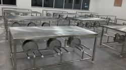 Fully Ss Six Seat Fold-able Dining Tables