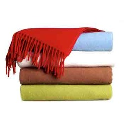 Plain Throws Shawls