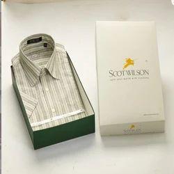 Light Gray Silk Shirt