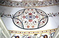 Marble Inlay Wall Panel