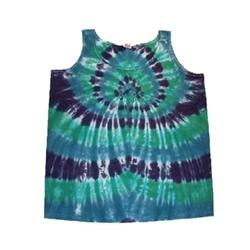 Sleeveless Tie Dye Tops
