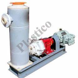 Centrifugal Pump ThreePhase Self Priming Polypropylene Pumps, Head Size: 6-45 Mtr, Capacity: 60-130 Lpm