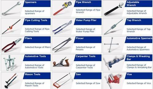 hand tool names. hand tool accessory names