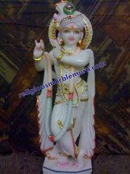 Marble Krishana Statue