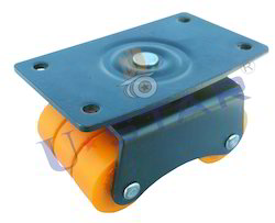 Heavy Derlin Bearing Moving Sixer Wheel Caster