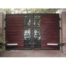Automatic Swing Gate Stainless Steel Swing Gate