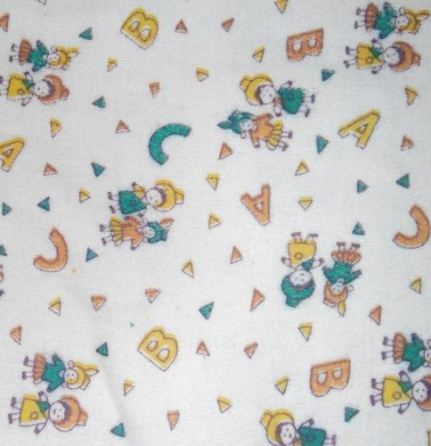Nursery Print Flannel Cloth