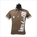 Polo T-shirt With Fine Printing