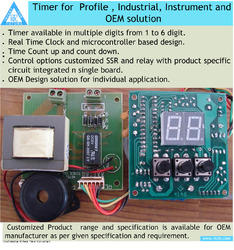 Timer for Profile, Industrial, Instrument and OEM solution
