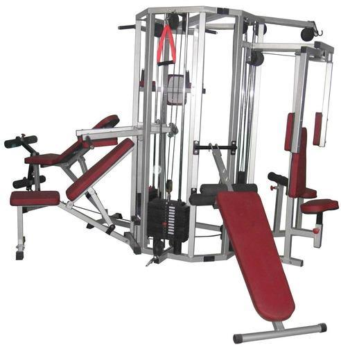 Steel station multi gym machine weight kg rs
