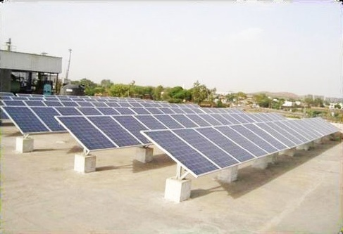 Steel Solar Panel C Channel Mounting Structure Rs 5000