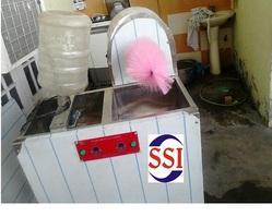 Semi Automatic 20 Liters Bottle Cleaning Machine