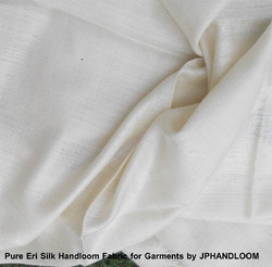 Plain Natural Eri Silk Fabric