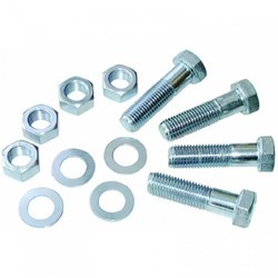 Blue Zinc Plated Bolts